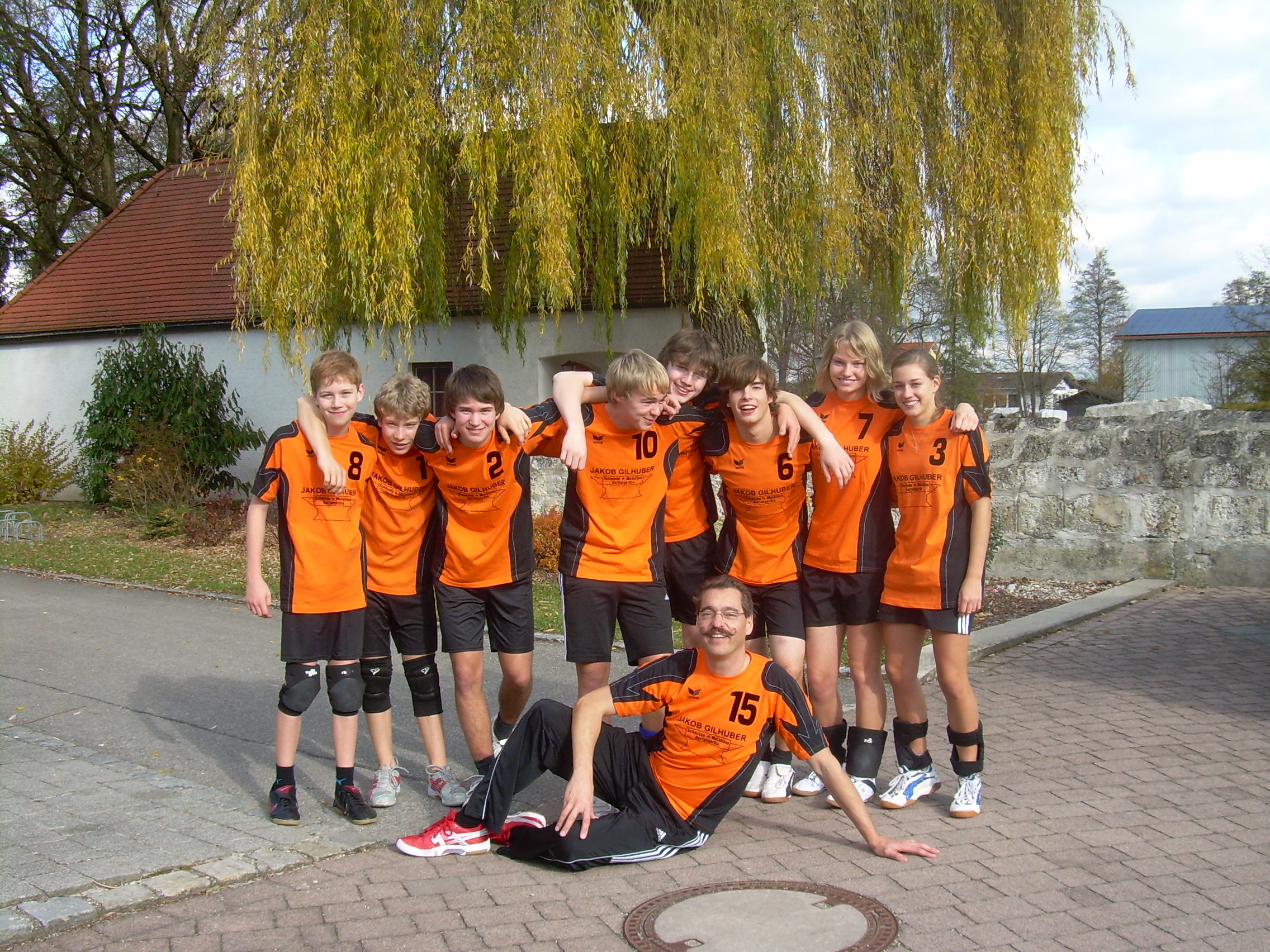 volleyfanten in haiming1